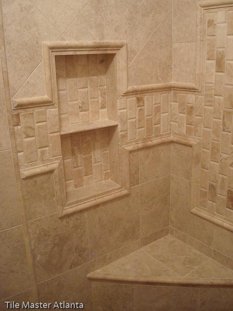 marble tile installation atlanta - Bathroom Tile Installation