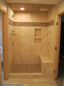 Pictures Of Remodeled Bathrooms tile master- bathroom remodeler roswell | roswell bathroom